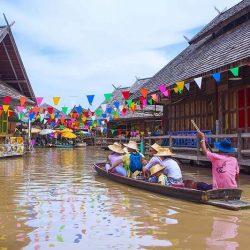 Chương trình tour Thái Lan - chợ nổi Pattaya