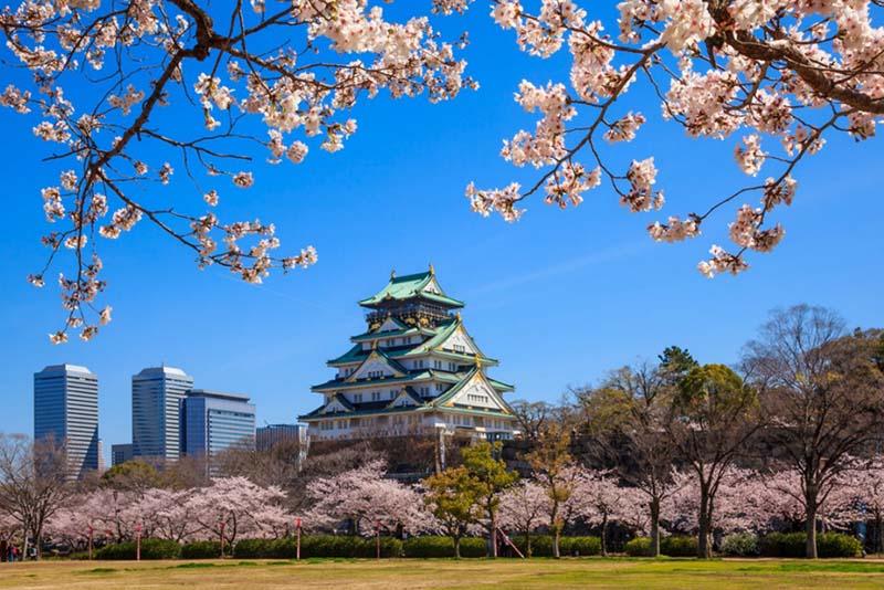 Đặt tour du lịch Nhật Bản trọn gói 6 ngày - Lâu đài Osaka